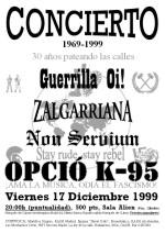 Guerrilla Oi!, Zalgarriana, Non Servium y Opció K-95