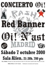 Red Banner y Oi! N'Ast