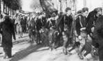 Enero de 1937: un grupo de voluntarios norteamericanos del Batallón Lincoln llega a Barcelona