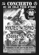 Núcleo Terco, Noise & Oi! y Oi! Kids