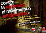 JJAA '11. Concentración: Contra la represión del movimiento antifascista