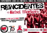 JJAA '11. Concierto: Ama la música, odia el fascismo