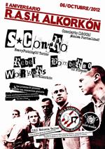 Concierto: Segundo Aniversario RASH Alkorkon