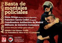 Acto Informativo: Basta de Montajes policiales