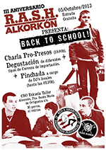 Tercer Aniversario RASH Alkorkon