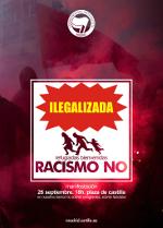 Manifestación: ¡Racismo NO! Refugiadas bienvenidas